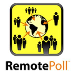Rösta med mentometer TurningPointfrån olika platser