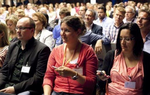 Mentometer turningPoint med publik