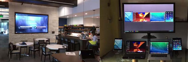 Mersive Solstice Pod för trådlös bildöverföring på företag och skola