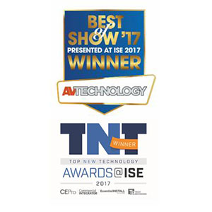 Solstice won Best of Show awards at ISE 2017