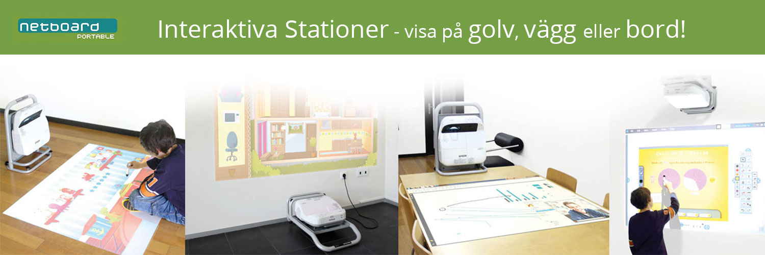 Interaktiva stationer med NetBoard Portable