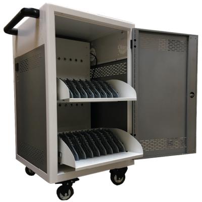 P-TEC T16 - Laddskåp med plats för 16 enheter - Laptops, cromebooks eller plattor.