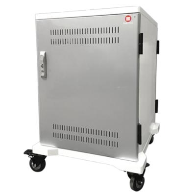 P-TEC T24 - Laddskåp med plats för 24 enheter - Laptops, cromebooks eller plattor.