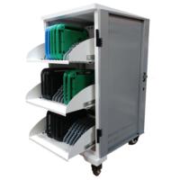 Laddskåp med plats för 36 enheter - Laptops, cromebooks eller plattor.