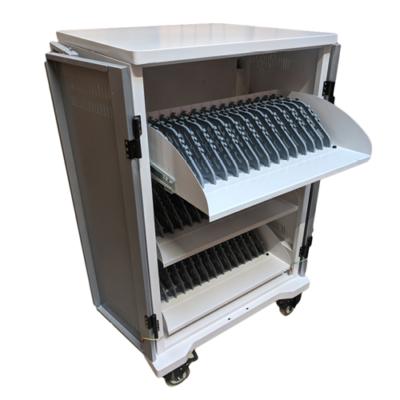 P-TEC T42 - Laddskåp med plats för 42 enheter - Laptops, cromebooks eller plattor.