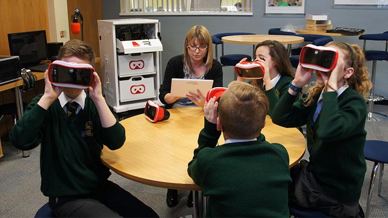 RedboxVr används av lärare och elever