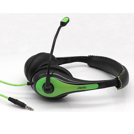 Headset AE-36 grön