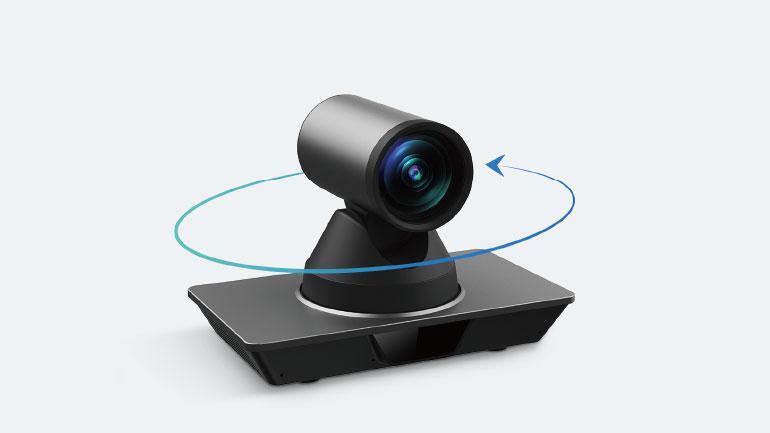 PTZ-kameran från MaxHub kan rotera ±170° vertikalt
