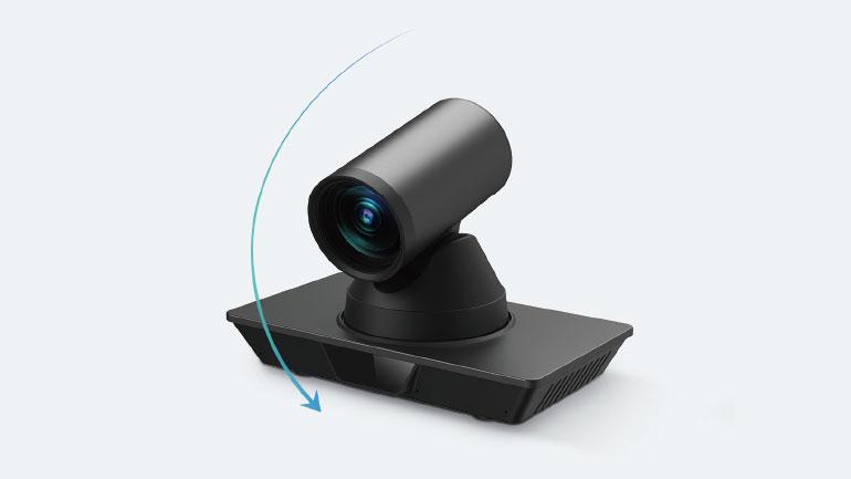 PTZ-kameran från MaxHub kan tiltas ±30°